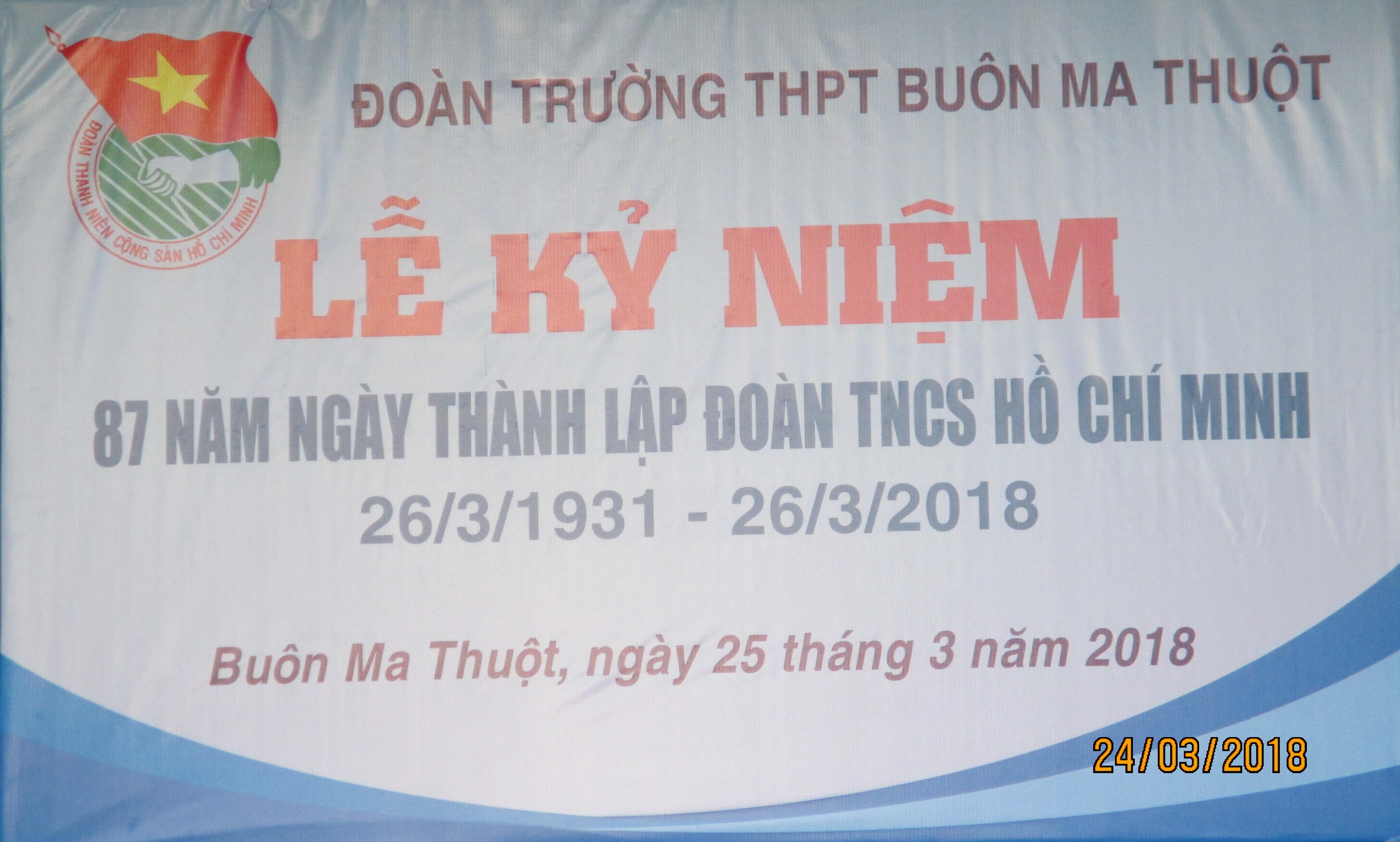 Album_87 năm ngày thành lập Đoàn TNCSHCM (26/3/1931-26/3/2018)